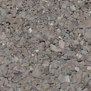Gray Flint Chip for garage floors