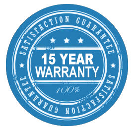 15-Year Warranty Badge
