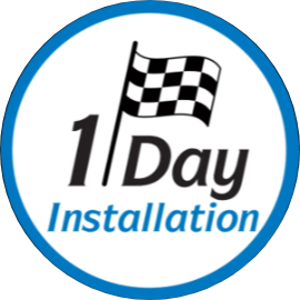 1-day installation