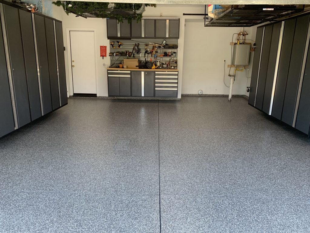 freshly coated workshop in santa clarita, CA
