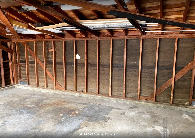 concrete garage floor pre coating
