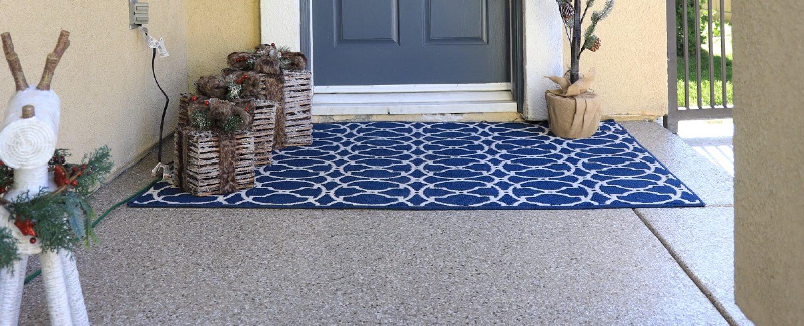 polyurea coated walkway